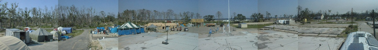 270 Degree Panorama of Waveland, MS.