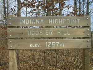 Indiana HighPoint Sign