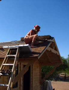 Pounding Nails on the LaST Roof.