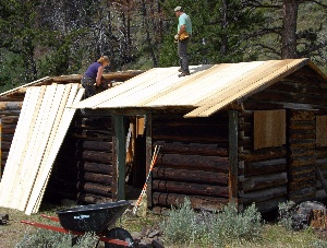 Resroting a Cabin at Double-D Ranch
