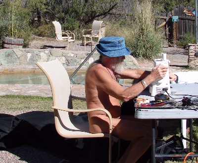Sewing at The C-O Pool