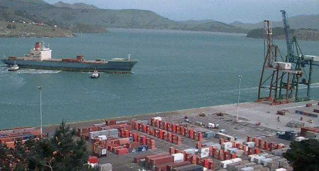 Port of Lyttelton